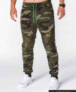 stilingos vyriskos Kamufliažinės sportinės kelnės vyrams Ding internetu pigiau