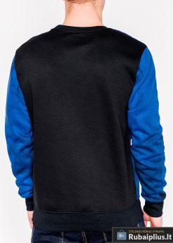 Mėlynas vyriškas džemperis su užrašais vyrams Future internetu pigiau B946M nugara