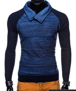 Mėlynas vyriškas megztinis vyrams Djablo internetu pigiau E148M priekis