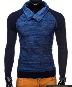 Mėlynas vyriškas megztinis vyrams Djablo internetu pigiau E148M