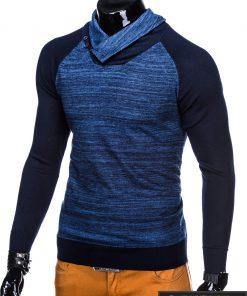 Mėlynas vyriškas megztinis vyrams Djablo internetu pigiau E148M kairė