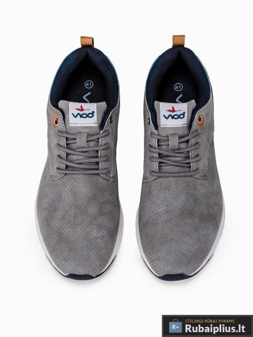 """stilingi vyriski laisvalaikio pilki sportiniai batai vyrams """"Dirk"""" internetu pigiau T258P"""