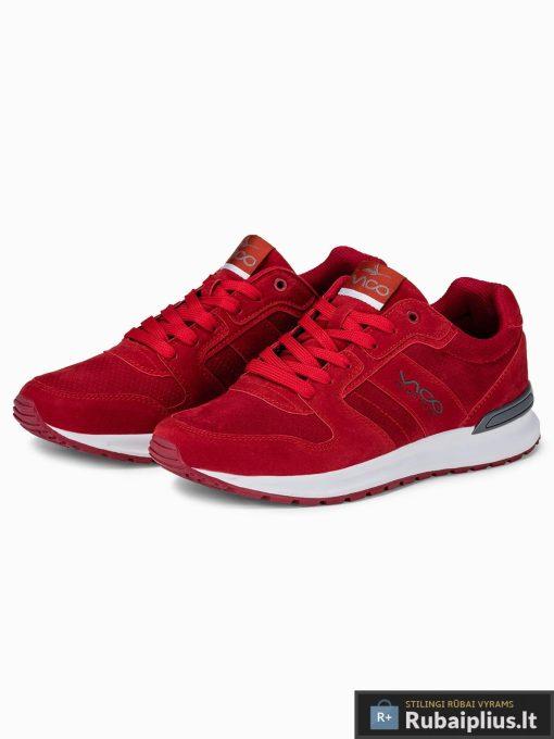 raudoni-sportiniai-batai-vyrams-fredi-T257-1