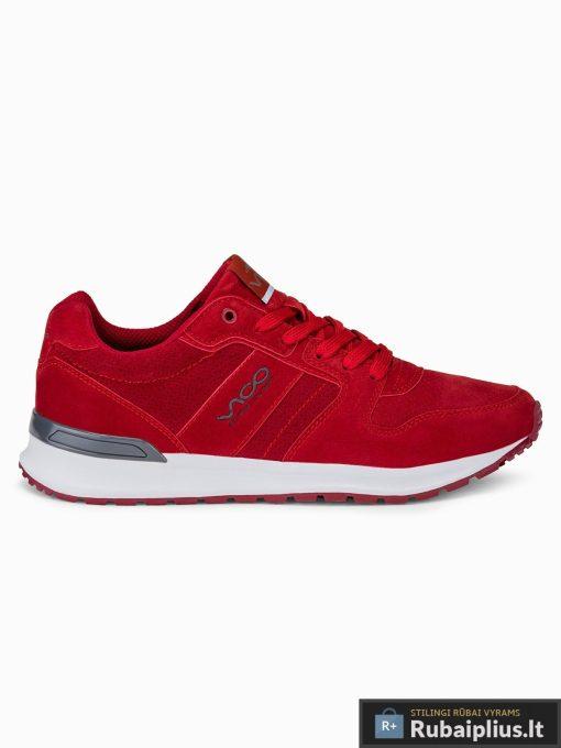 """stilingi vyriski laisvalaikio Raudoni sportiniai batai vyrams """"Fredi"""" internetu pigiau T257R"""