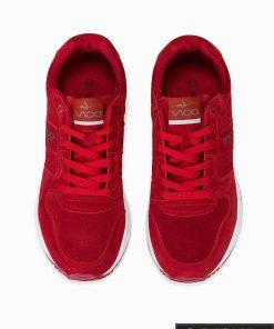 stilingi vyriski laisvalaikio Raudoni sportiniai batai vyrams