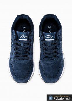 stilingi vyriski laisvalaikio Tamsiai mėlyni sportiniai batai vyrams