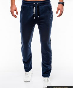 Vyriskos tamsiai mėlynos sportinės kelnės vyrams internetu pigiau P741TM priekis