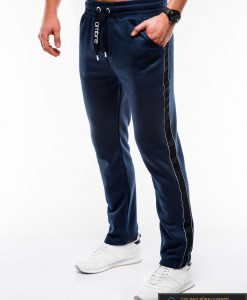 Vyriskos tamsiai mėlynos sportinės kelnės vyrams internetu pigiau P741TM kairė