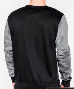 Tamsiai pilkas vyriškas džemperis su užrašais vyrams Future internetu pigiau B946TP nugara