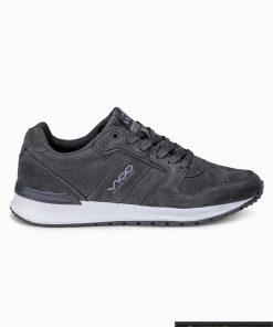 """stilingi vyriski laisvalaikio Tamsiai pilki sportiniai batai vyrams """"Fredi"""" internetu pigiau T257TP"""