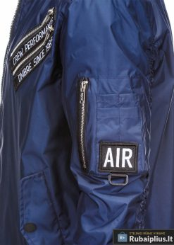 Vyriska pavasarine tamsiai mėlyna striukė vyrams internetu pigiau C349TM šonas