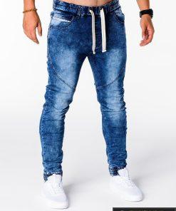 Vyriski jogger mėlyni džinsai vyrams internetu pigiau P174M dešinė