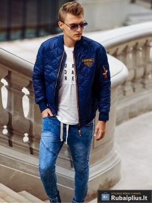 Vyriski jogger mėlyni džinsai vyrams internetu pigiau P174M žmogus