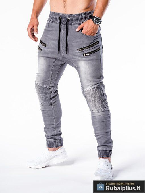 Vyriski jogger pilki džinsai vyrams internetu pigiau P405P kairė