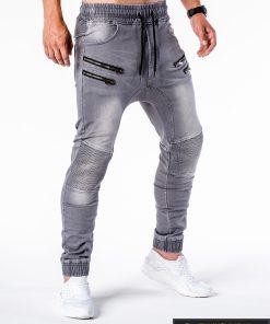 Vyriski jogger pilki džinsai vyrams internetu pigiau P405P dešinė