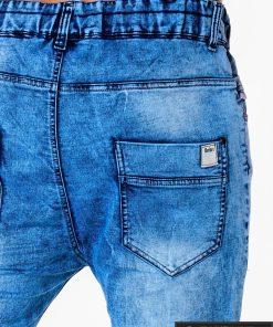 Vyriski jogger šviesiai mėlyni džinsai vyrams internetu pigiau P174SM kišenė