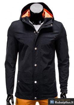 Vyriska pavasarine juoda striukÄ— vyrams prailginta gale internetu pigiau C310J priekis