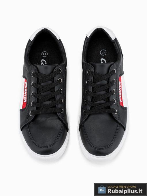 Juodi laisvalaikio batai vyrams internetu pigiau T273J viršus