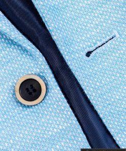 Stilingas šviesiai mėlynas vyriškas švarkas bleizeris vyrams internetu pigiau M88SM saga