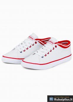 Vyriski sportbačiai balti laisvalaikio batai vyrams internetu pigiau T302B pora