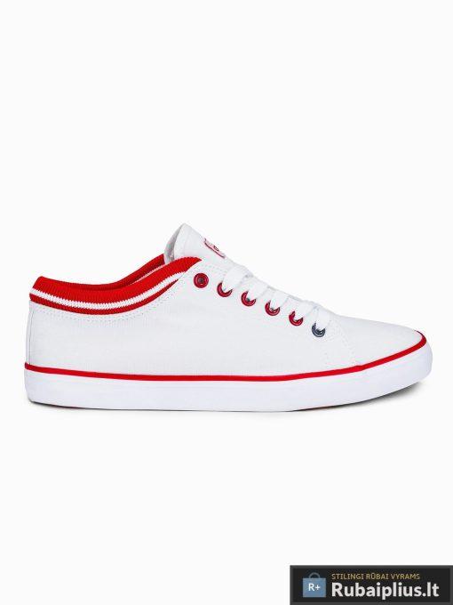 Vyriski sportbačiai balti laisvalaikio batai vyrams internetu pigiau T302B vienas