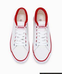 Vyriski sportbačiai balti laisvalaikio batai vyrams internetu pigiau T302B viršus