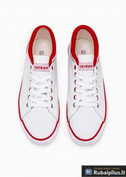 Vyriski sportba�iai balti laisvalaikio batai vyrams internetu pigiau T302B viršus