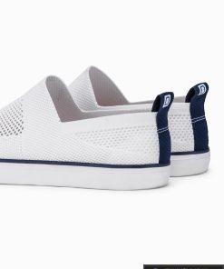 Vyriski balti laisvalaikio batai vyrams su tinkleliu internetu pigiau T308B pora kulnas