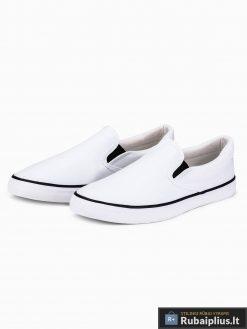 Stilingi vyriski balti laisvalaikio batai vyrams internetu pigiau T301B pora