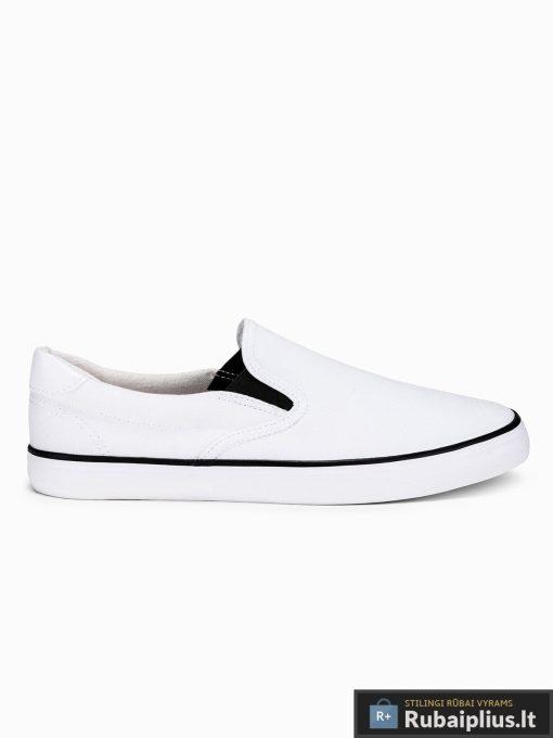 Stilingi vyriski balti laisvalaikio batai vyrams internetu pigiau T301B vienas