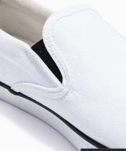 Stilingi vyriski balti laisvalaikio batai vyrams internetu pigiau T301B viršus