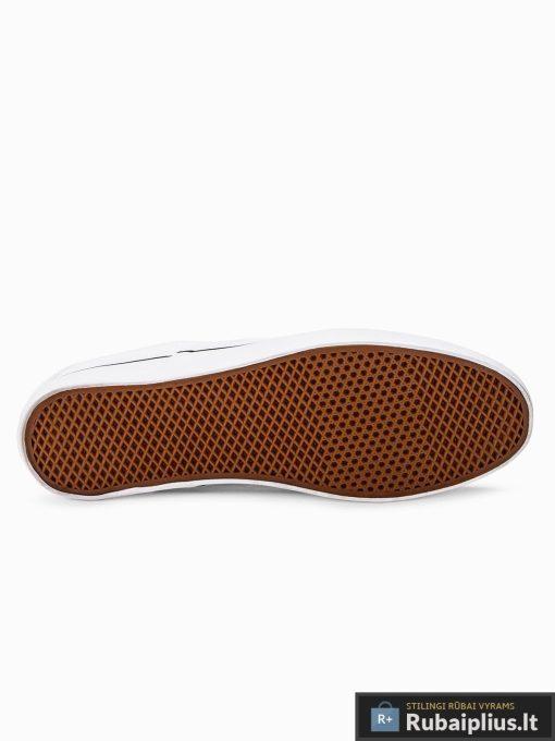 Stilingi vyriski balti laisvalaikio batai vyrams internetu pigiau T301B padas