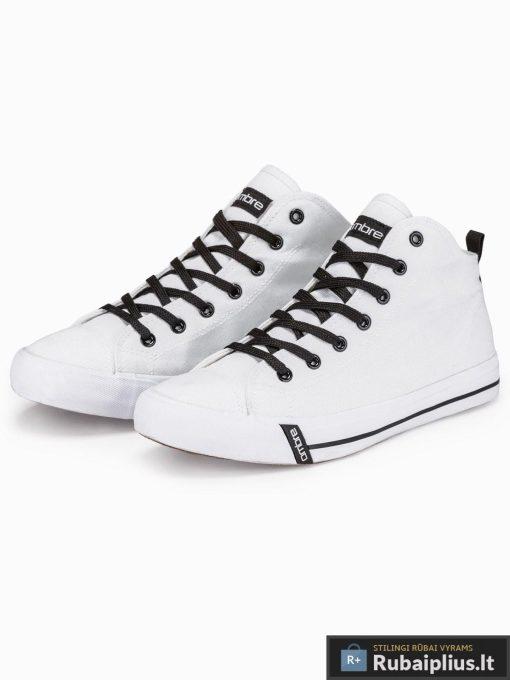 Stilingi vyriski balti paaukštinti laisvalaikio batai vyrams internetu pigiau T304B pora