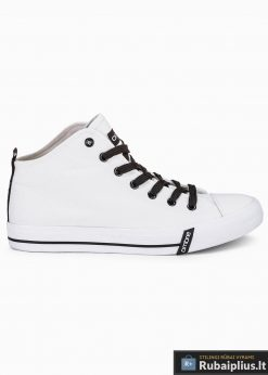 Stilingi vyriski balti paaukštinti laisvalaikio batai vyrams internetu pigiau T304B vienas