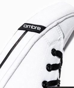 Stilingi vyriski balti paaukštinti laisvalaikio batai vyrams internetu pigiau T304B šonas