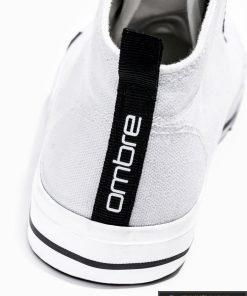 Stilingi vyriski balti paaukštinti laisvalaikio batai vyrams internetu pigiau T304B kulnas