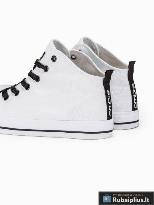 Stilingi vyriski balti paaukštinti laisvalaikio batai vyrams internetu pigiau T304B iš galo