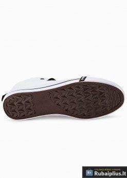 Stilingi vyriski balti paaukštinti laisvalaikio batai vyrams internetu pigiau T304B padas