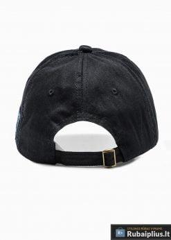 Beisbolo juoda vyriška kepurė su snapeliu vyrams internetu pigiau H031 iš galo
