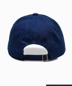 Beisbolo tamsiai mėlyna vyriška kepurė su snapeliu vyrams internetu pigiau H031 iš galo