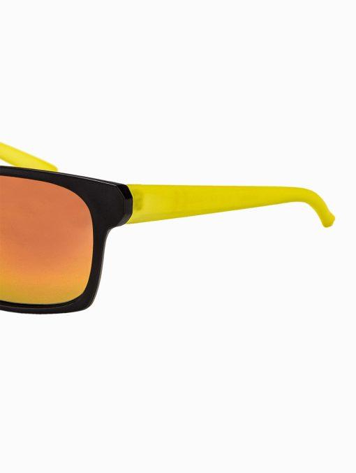 Madingi geltoni vyriški akiniai vyrams internetu pigiau A168G kojelė