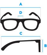 Geltoni vyriški akiniai A168G
