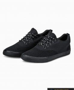 Vyriski sportbačiai juodi laisvalaikio batai vyrams internetu pigiau T303J pora