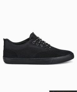 Vyriski sportbačiai juodi laisvalaikio batai vyrams internetu pigiau T303J vienas