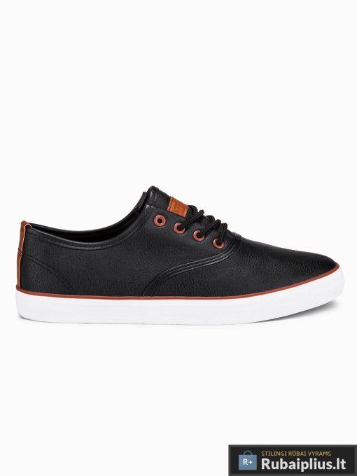 Stilingi vyriski juodi laisvalaikio batai vyrams internetu pigiau T305J vienas