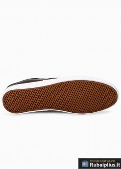 Stilingi vyriski juodi laisvalaikio batai vyrams internetu pigiau T305J padas
