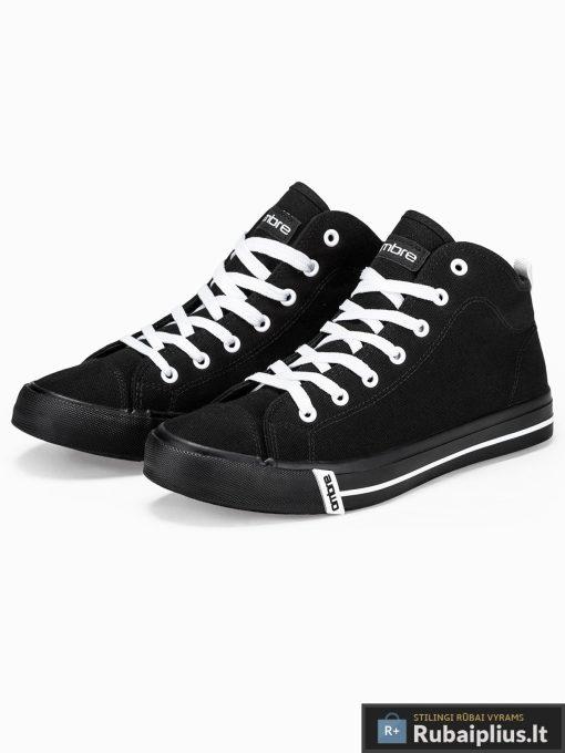 Vyriski sportbačiai juodi laisvalaikio batai vyrams internetu pigiau T304J pora