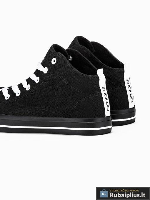 Vyriski sportbačiai juodi laisvalaikio batai vyrams internetu pigiau T304J pora kulnas