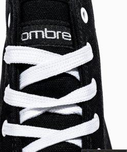 Vyriski sportbačiai juodi laisvalaikio batai vyrams internetu pigiau T304J raišteliai