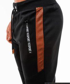 Vyriski juodi šortai vyrams internetu pigus W183JR kišenė